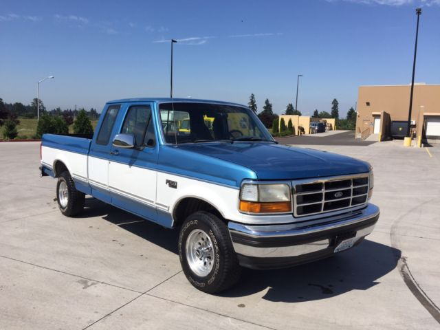 1992 Ford F 150 Xlt 4x4 Extended Cab Short Bed