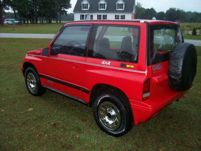 1992 Geo Tracker 4x4 Sidekick Suv Jeep Top Towing