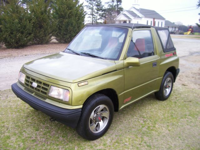 Geo Tracker Convertible Low Miles Runs Perfect Rust Free Car on 1992 Geo Tracker Parts