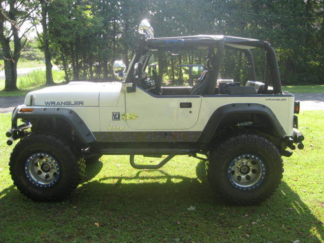 How To Rebuild Automatic Transmission >> 1992 Jeep Wrangler YJ Custom Built, 360 MOPAR,Lifted, With ...