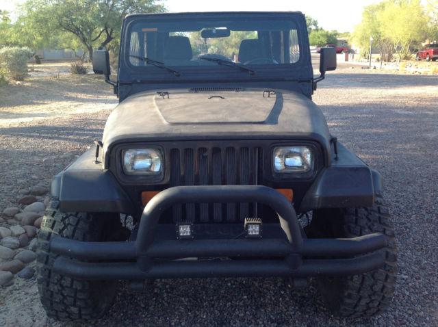 1992 Jeep Wrangler Yj Frameless Soft Top 33 Inch Tires