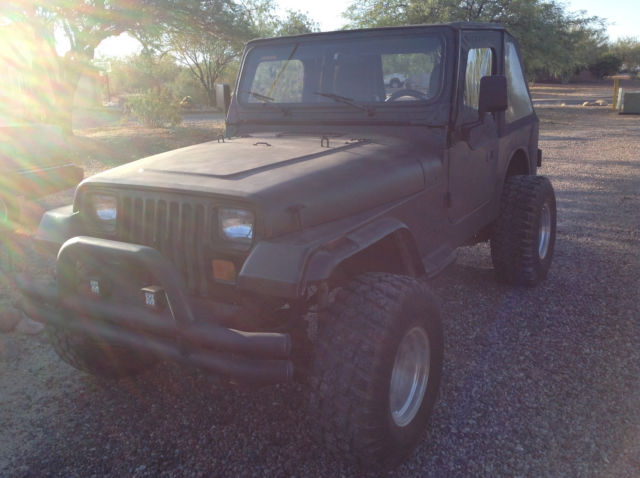 1992 Jeep Wrangler Yj Frameless Soft Top 33 Inch Tires