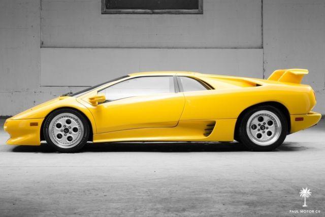 1992 Lamborghini Diablo 12 445 Miles Cvx Racing Mufflers Marmite Ansa Tips