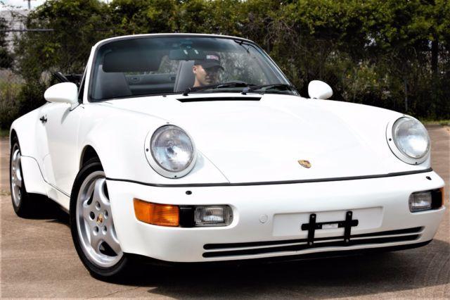 1992 porsche 911 964 american roadster. Black Bedroom Furniture Sets. Home Design Ideas