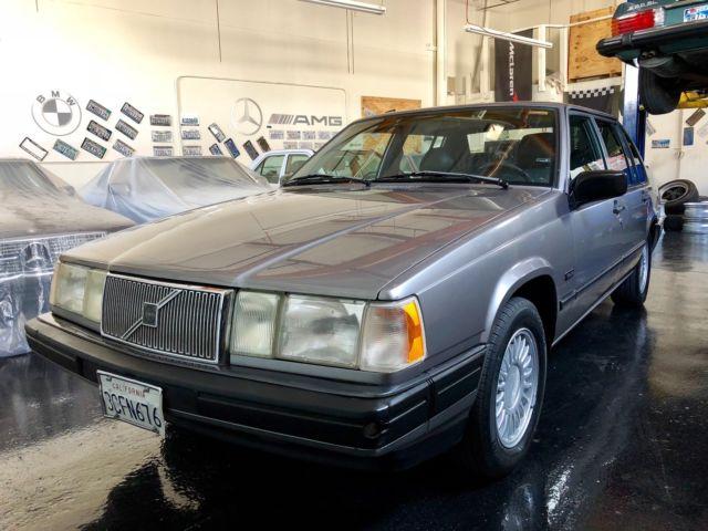 1992 volvo 940 turbo original owner 38k miles all original. Black Bedroom Furniture Sets. Home Design Ideas