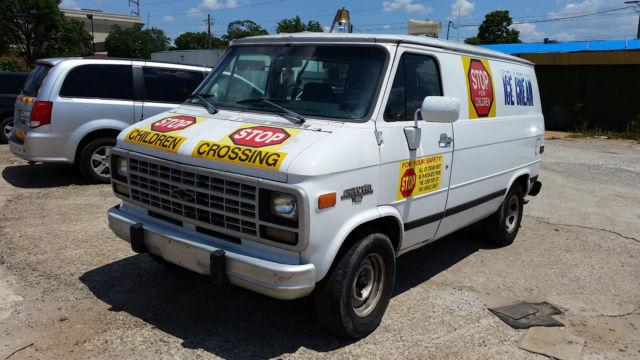 1993 Chevy Chevrolet G10 Van