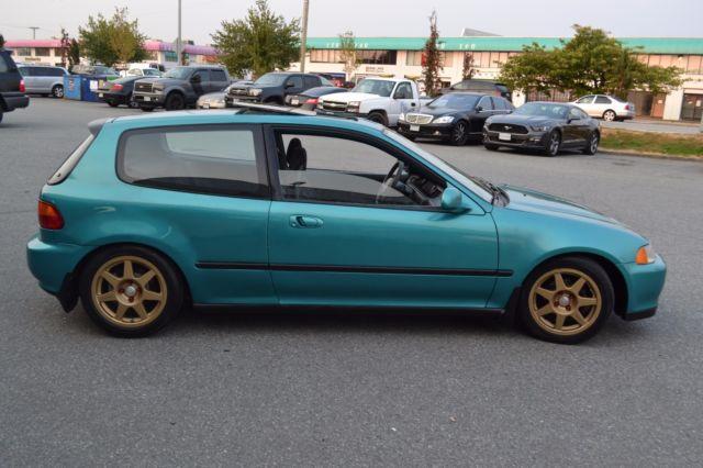 1993 honda civic si eg hatchback hatch manual hb type r ej for Honda eg hatchback