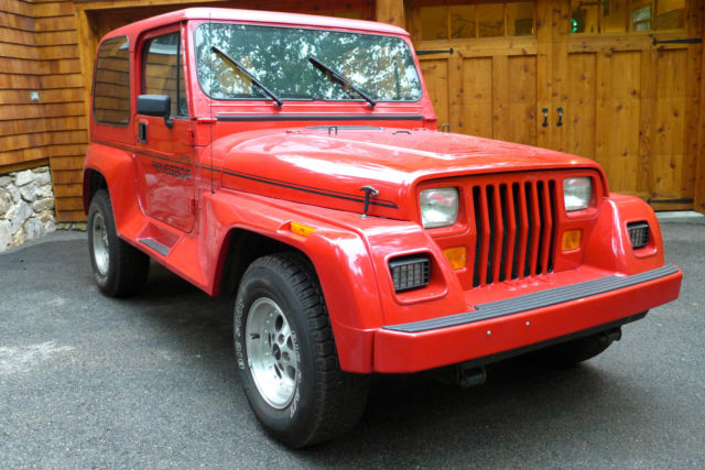 1993 jeep wrangler renegade 35 000 mile garage kept. Cars Review. Best American Auto & Cars Review