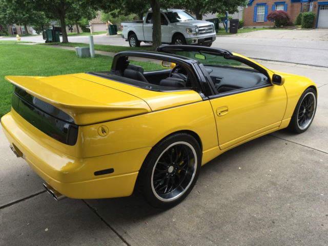 1993 nissan 300zx convertible twin turbo conversion. Black Bedroom Furniture Sets. Home Design Ideas