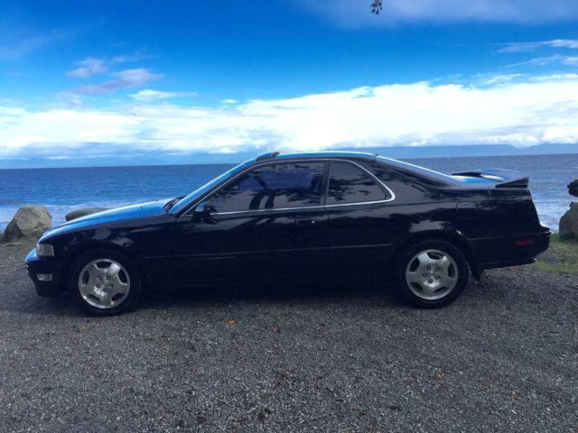 1994 Acura Legend 6 Speed Black Black Leather LS Coupe 2 ...