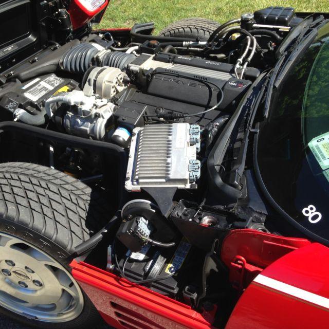 1994 Chevrolet Corvette Interior: 1994 Brickyard 400 Corvette