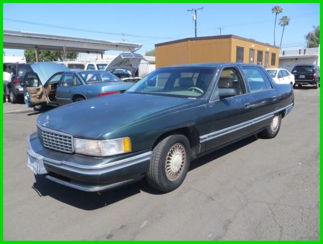 1994 cadillac deville used 4 9l v8 16v automatic sedan no reserve. Black Bedroom Furniture Sets. Home Design Ideas