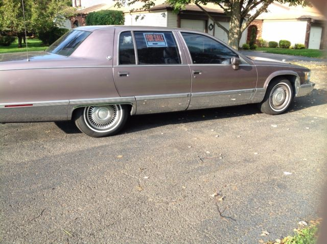 1994 Cadillac Fleetwood, Tan with 65,000 Miles available now!