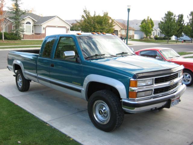 1994 Chevrolet Silverado 2500 4x4 Heavy Duty Club Cab Ext