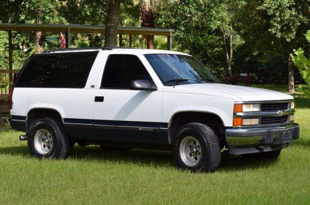 Chevy Blazer 4x4 >> 1994 Chevy K1500 Blazer 4X4 SUV , OFF ROAD , AUTOMATIC , V8