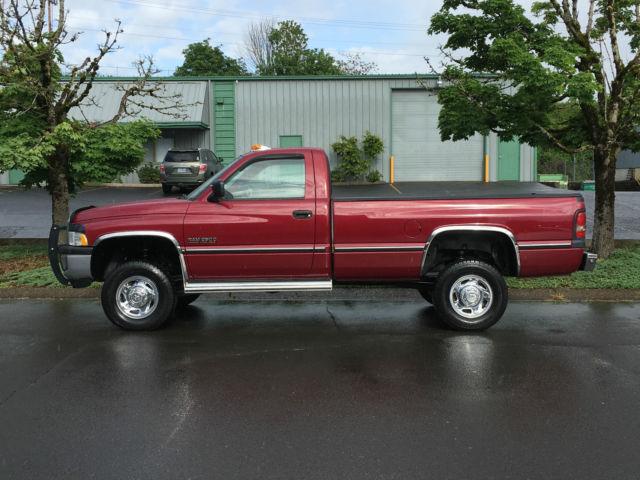 1994 dodge ram 2500 4x4 5 speed manual 5 9l cummins diesel second gen 88k miles. Black Bedroom Furniture Sets. Home Design Ideas