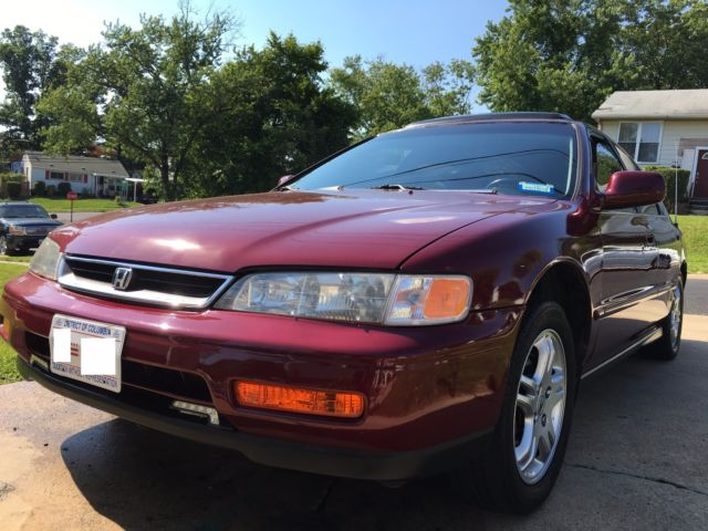 1994 honda accord ex 4 door 4 cylinder excellent condition for Honda accord 4 cylinder