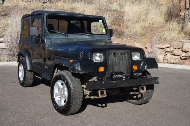 1994 Jeep Wrangler Se 178 490 Miles Green 4 Liter Straight