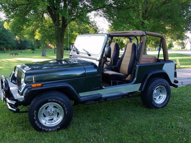 1994 jeep wrangler yj multiple soft tops 4x4 4 cylinder 2 5 liter 5 speed. Black Bedroom Furniture Sets. Home Design Ideas