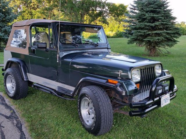 1994 Jeep Wrangler Yj Multiple Soft Tops 4x4 4 Cylinder