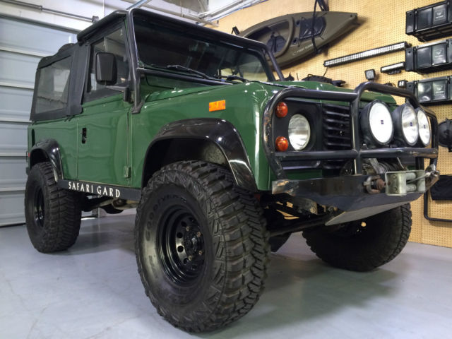 Hornburg Land Rover >> 1994 LAND ROVER N.A.S. DEFENDER 90 SOFT TOP #1398 1 OWNER CALIFORNIA CAR NO RUST