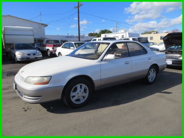 1994 lexus es300 used 3l v6 24v automatic sedan no reserve. Black Bedroom Furniture Sets. Home Design Ideas