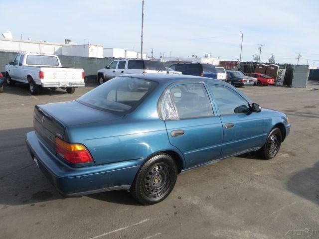 1994 Toyota Corolla Standard Used 1 6l I4 16v Manual Sedan