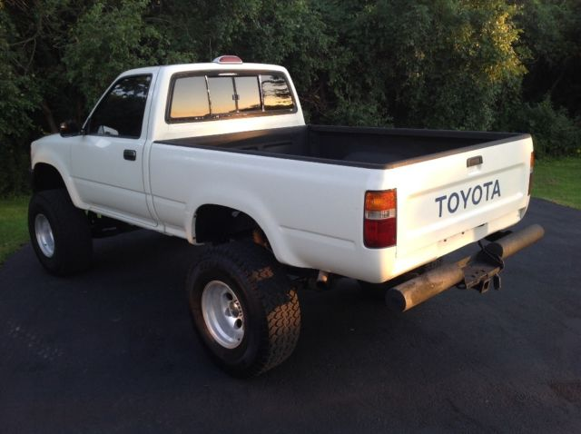 1994 Toyota Tacoma Pickup 4wd 100 Original Suspension