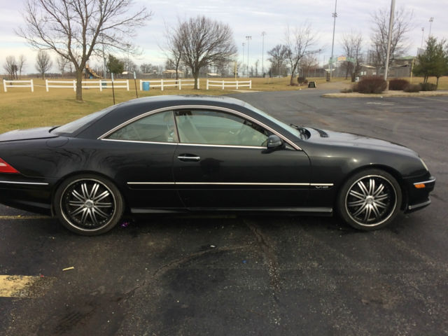 2002 mercedes benz cl600 v12 coupe w215 potential needs. Black Bedroom Furniture Sets. Home Design Ideas