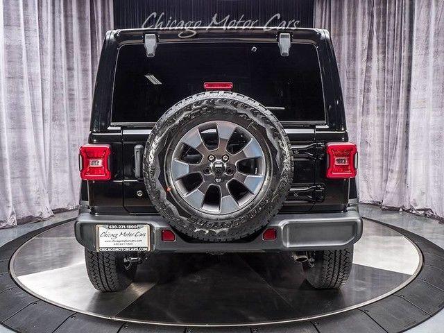 2018 Jeep Wrangler Unlimited Sahara Black Clearcoat