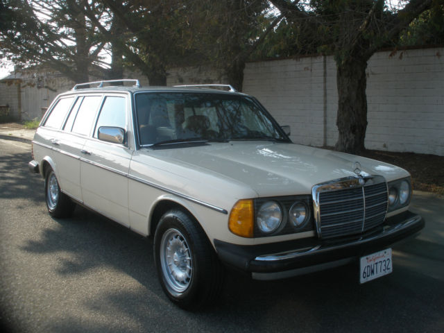 300td 300tdt station wagon estate turbo diesel w cargo for Family motors santa maria ca