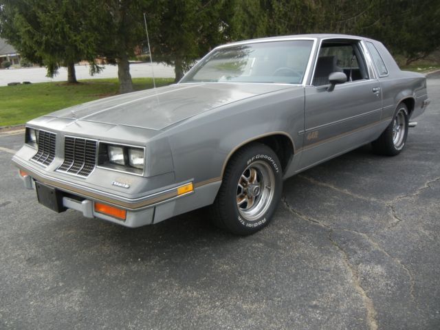 442 oldsmobile cutlass salon gray low miles no reserve for 1974 cutlass salon for sale