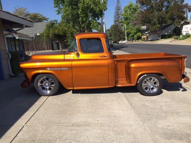55 chevy pickup 3100 series