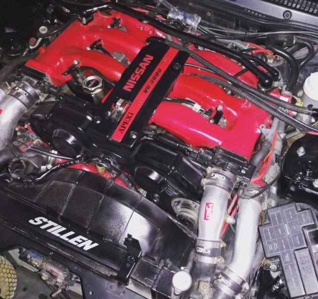 300zx Twin Turbo Motor: 600+hp 1990 Nissan 300ZX