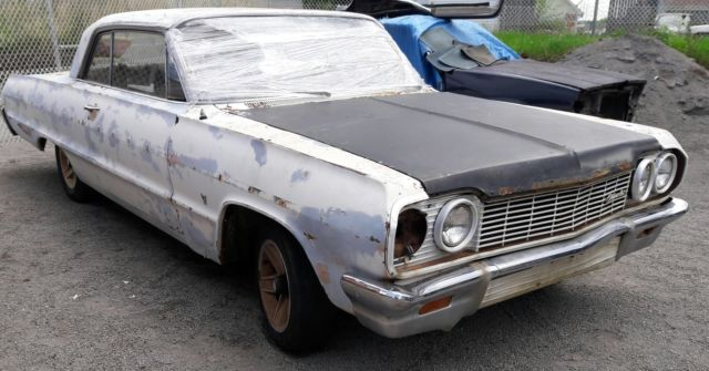 64 Impala Biscayne Belair SS 2 Dr auto RESTORE PROJECT