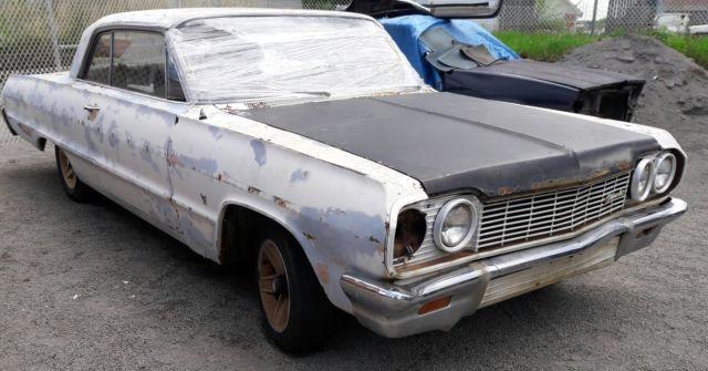 Belair Auto Auction >> 64 Impala Biscayne Belair SS 2 Dr auto RESTORE PROJECT