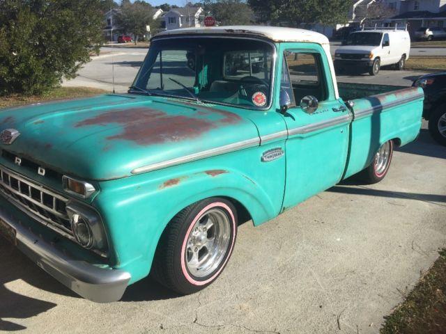 65 f100 patina truck