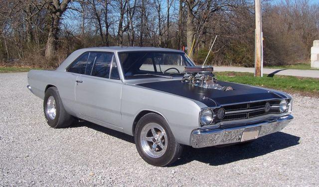 Used Dodge Dart >> '68 Dodge blown HEMI Dart
