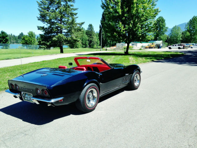 Used Cars Kalispell >> 69 RARE CORVETTE, 427/ 400 HP. Red interior.