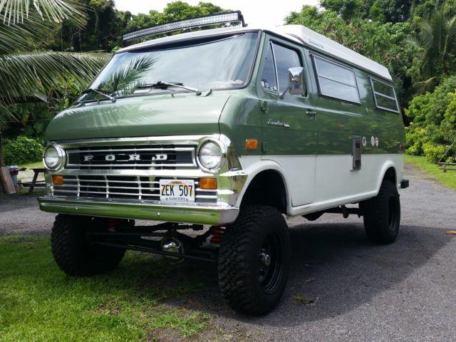 72 Econoline Van E300 4x4 Van