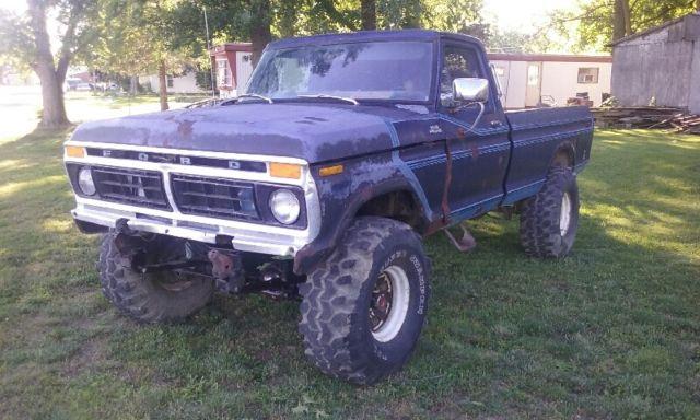77 Ford F250 Truck 4x4
