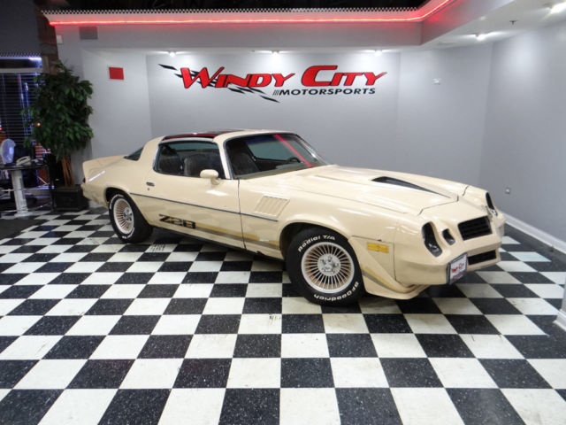 79 chevy camaro z28 coupe original survivor barn find rare. Black Bedroom Furniture Sets. Home Design Ideas