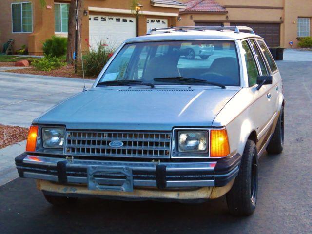 85 39 ford escort lynx non turbo diesel wagon 5 speed rare. Black Bedroom Furniture Sets. Home Design Ideas