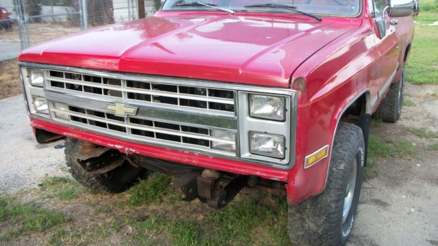 1980 chevy k10 short bed