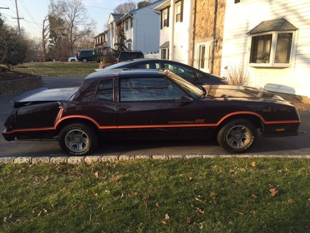86 monte carlo ss t top for parts. Black Bedroom Furniture Sets. Home Design Ideas