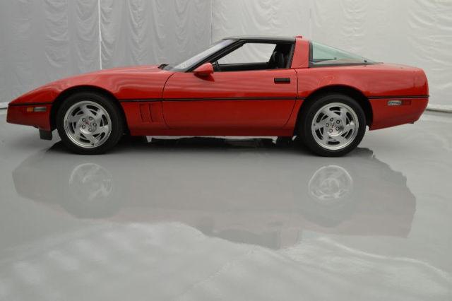 90 Corvette Zr1 6spd Manual Very Low Original 127miles Red