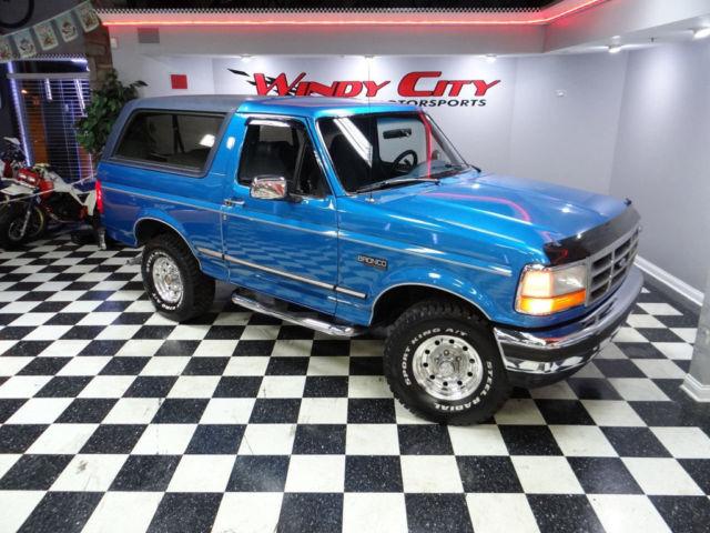 94 Ford Bronco Xlt 4x4 5 8 Low Miles Super Clean Texas