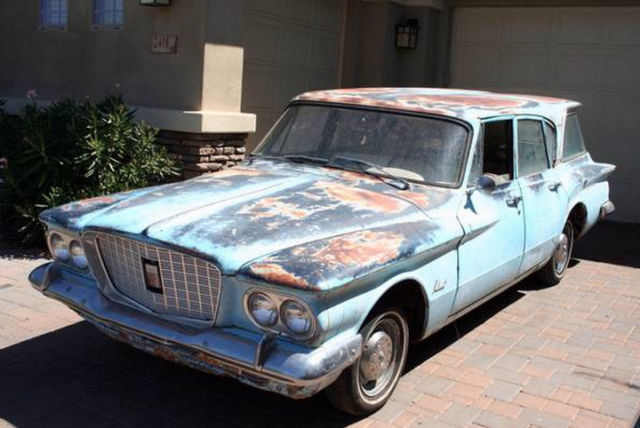 1960 Plymouth Valiant 4-Door Sedan and Station Wagon ... |1960 Chrysler Valiant Station Wagon