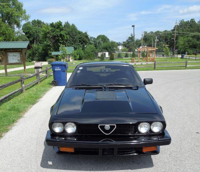 Alfa Romeo Alfetta GTV6 1985 New Black Custom Paint Super
