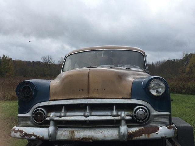 All original 1953 chevrolet bel air 4 door sedan hardtop for 1953 belair 4 door